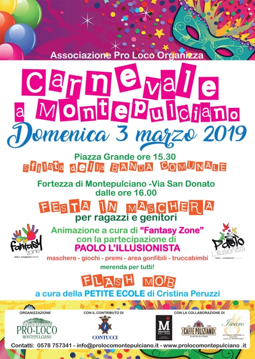 Carnevale a Montepulciano 2019
