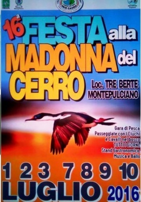 16thFestivalto the Madonnadel Cerro