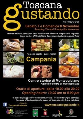 Toscana Gustando VI edizione La TOSCANA incontra i ...