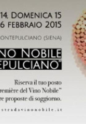 21 ed. dell'Anteprima del Vino Nobile - 15 / 16 Fe ...
