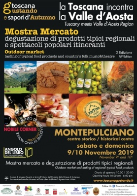 Toscana Gustando e sapori d'Autunno 2019 - 10th Edition