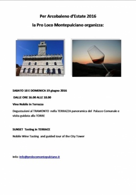 Arcobaleno d'Estate 2016 - SATURDAY 18 and SUNDA ...