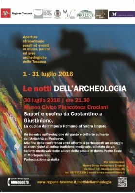 Le notti dell'Archeologia 30 luglio 2016 | ore 21. ...