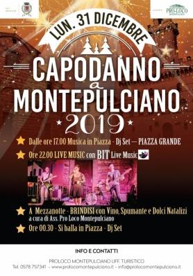 Capodanno 2019 a Montepulciano