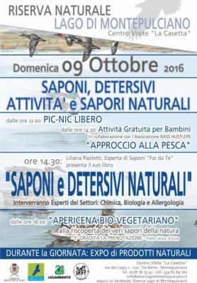Saponi, detersivi, attività e sapori naturali al Lago di Montepulciano