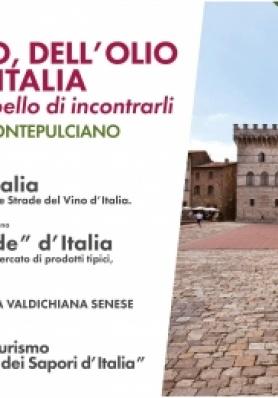 1° Meeting Nazionale Strade del Vino, dell'Olio e dei Sapori d'Italia - 7/8/9 Giugno 2019
