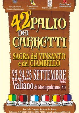 42° Palio dei Carretti - Valiano - 23/24/25 Sette ...