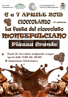 CIOCCOLANDO A MONTEPULCIANO 2019
