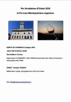 Arcobaleno d'Estate 2016 - Sabato 18 e Domenica 19 Giugno 2016