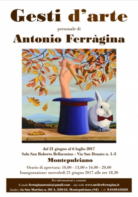 Mostra Gesti d'arte - Personale di Antonio Ferràg ...