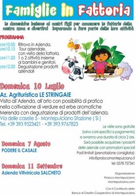 Famiglie in Fattoria - Agriturismo Le Stringaie - Rinviata a data da destinarsi