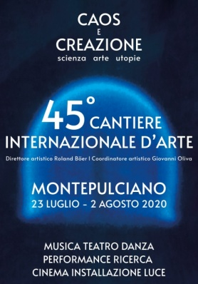 45° CANTIERE INTERNAZIONALE D'ARTE - CAOS E CREAZ ...