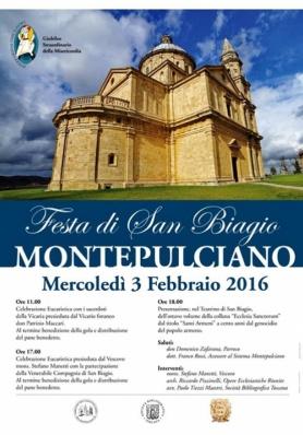 Festa di San Biagio - Mercoledì 3 Febbraio 2016