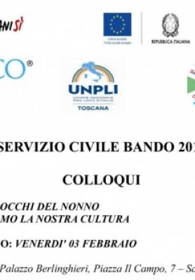 SERVIZIO CIVILE BANDO 2016 DATA DEL COLLOQUI - VEN ...