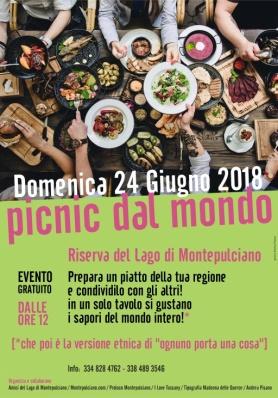 Pic Nic Dal Mondo - Domenica 24 Giugno 2018 - Riserva Lago Di Montepulciano