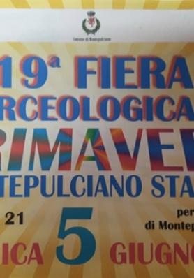 19a Fiera Merceologica di Primavera a Montepulciano Stazione