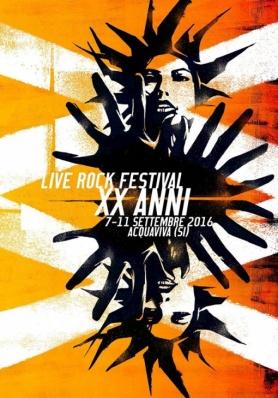 Live Rock Festival 2016 - 7 - 11 settembre