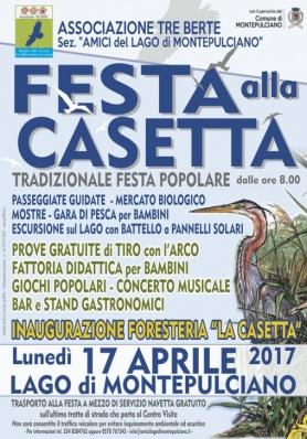 Festa alla Casetta - Lago di Montepulciano