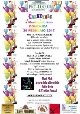 Carnevale 2017 a Montepulciano
