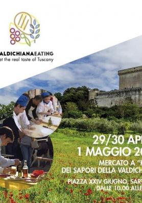 VALDICHIANAEATING Sarteano (SI) - Dal 29 Aprile al 1 Maggio 2017