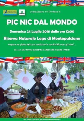 PIC NIC DAL MONDO - Domenica 24 Luglio 2016 - Lago ...