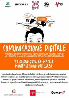 COMUNICAZIONE DIGITALE - giovedì 23 giugno 2016 - ex Macelli