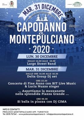 Capodanno a Montepulciano